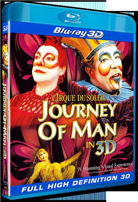 Цирк дю Солей: Большое путешествие 3Д / Cirque du Soleil: Journey of Man 3D (2000) [BDrip-AVC, Half OverUnder / Вертикальная анаморфная стереопара]