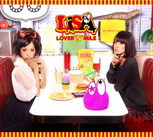 "(JPop / JRock / Anime / Soundtrack) LiSA - LOVER""S""MiLE - 2012, FLAC (tracks), lossless"