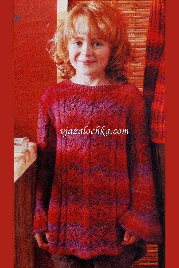 Вязание спицами девочка подросток 885