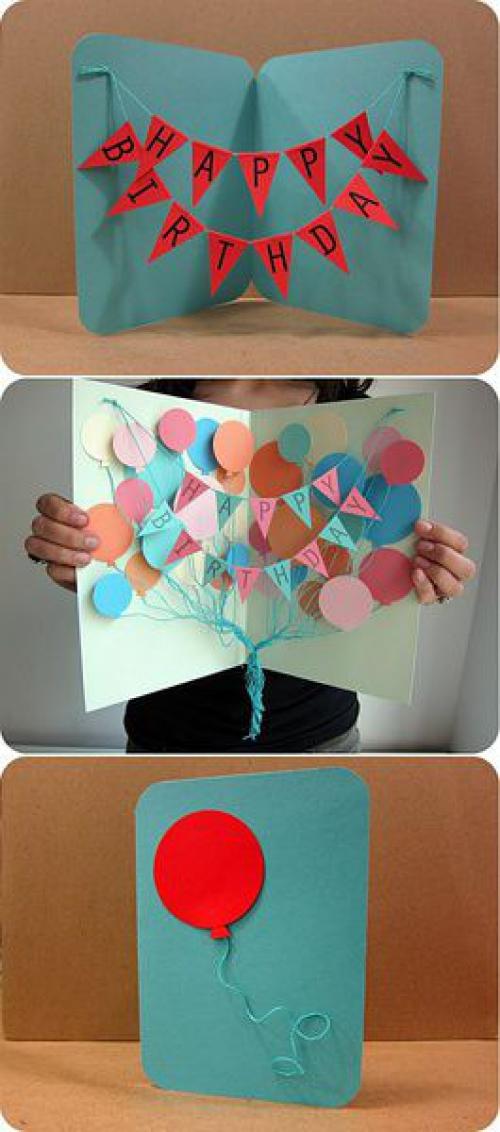 Открытки для друга с днем рождения своими руками