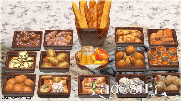 Ladesire 39 s creative corner bread collection updated decor by ladesire - Plaque decorative cuisine ...