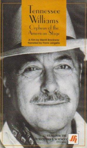 Теннесси Уильямс. Орфей американскойсцены / American Masters: Tennessee Williams. Orpheus of the American Stage (Меррилл Броквей / Merrill Brockway) [1994, документальный, биография, DVB] DVO (Первый канал)
