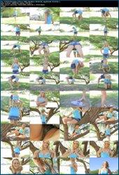 Прекрасная гимнастка Джесика / Beautiful gymnast Jessica (2012-08-18)  17 Full HD clips & HQ Photos