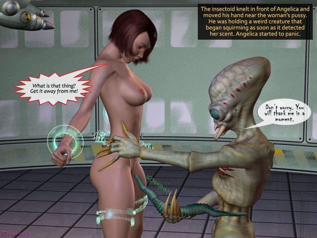 комиксы секс с инопланетянами