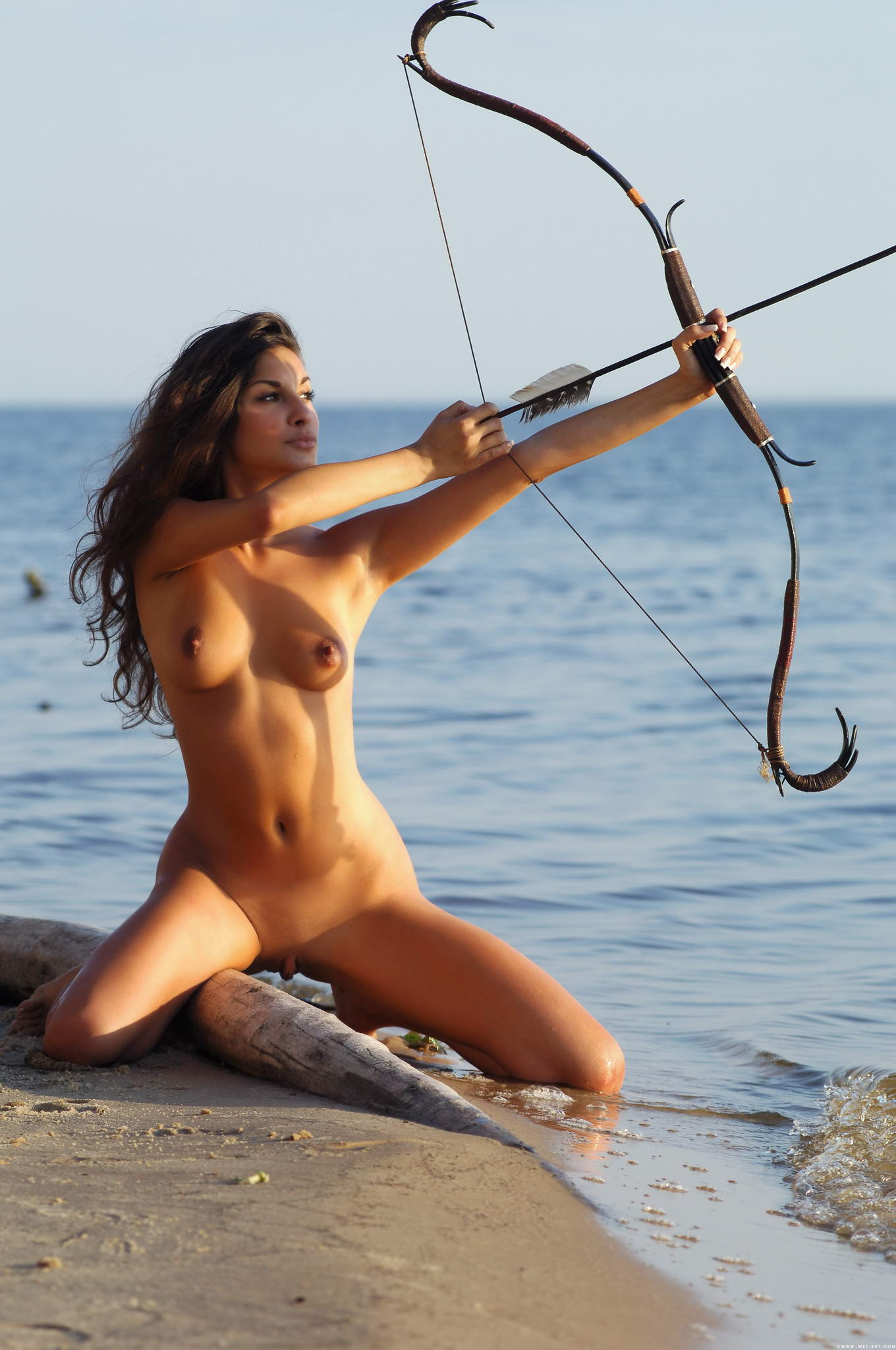 Female archers naked erotic photos