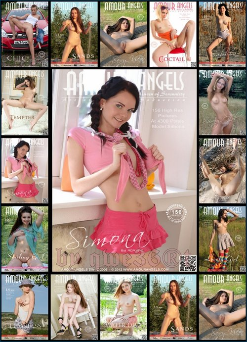 Юные красавицы AmourAngels / Young beauties AmourAngels (August 2012) HQ Photo sets & 4 HD Video