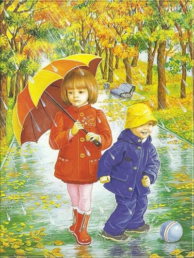 картинки здравствуй осень для детского сада