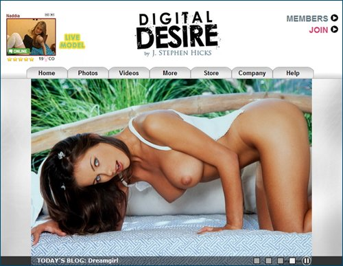Бесподобные модели DigitalDesire / Peerless Model DigitalDesire [All Videos] (Augst-2012) HD Video