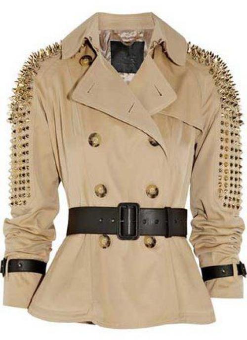 Кожаная куртка с шипами своими руками