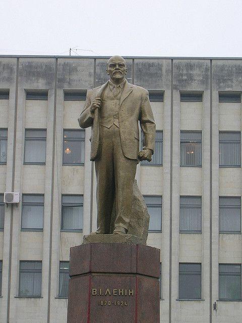 Перевоплощение памятника Ленину в Бухаресте