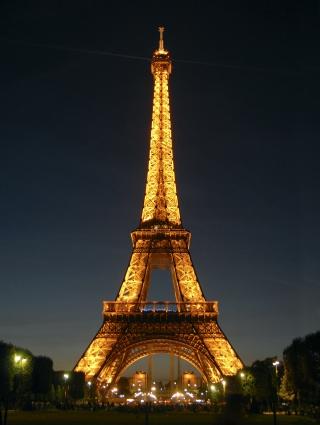 Моё знакомство с Парижем