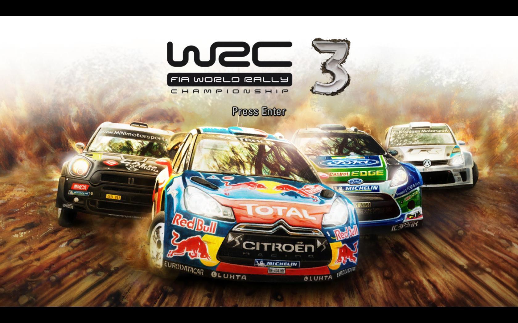 Скачать игру WRC 3 FIA World Rally Championship (2012) торрент.