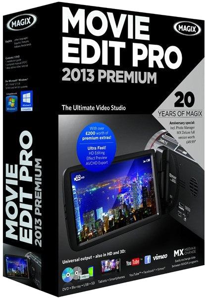 MAGIX Movie Edit Pro 2013 Premium 12.0.3.4 Final + Contents [2013,MlRus]