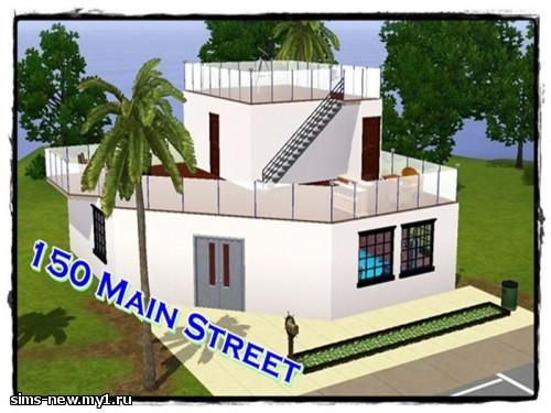 150 Main Street by nefertiti781 - Дома, общественные участки для Sims 3 !--if()--- !--endif-- - Каталог файлов - sims-new