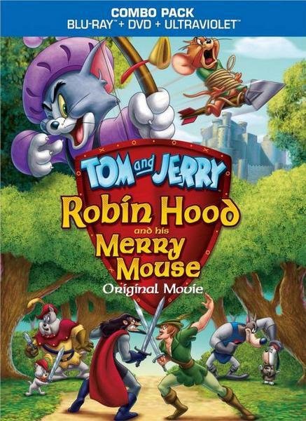 Том и Джерри: Робин Гуд и Мышь-Весельчак / Tom and Jerry: Robin Hood and His Merry Mouse (Спайк Брандт / Spike Brandt, Тони Червоне / Tony Cervone) [2012, мультфильм, семейный, BDRip 720p] Dub + Original + Subs (Rus, Eng)