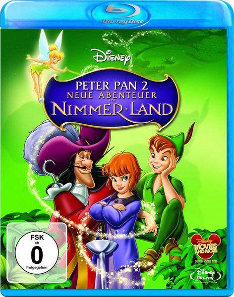 Питер Пэн 2: Возвращение в Нетландию / Return to Never Land (Робин Бадд / Robin Budd, Донован Кук / Donovan Cook) [2002, мультфильм, фэнтези, приключения, семейный, Blu-ray Disc 1080p] [CEE]