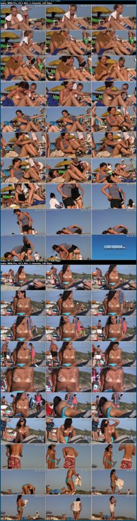Candid Topless And Nude Beach Videos [Collection of 40 video clips] (2012) HD Video