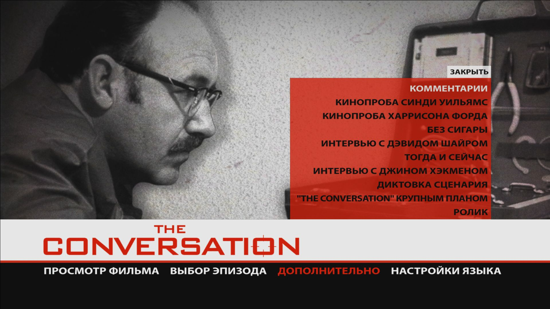 a comprehensive review of the conversation a movie by francis ford coppola Browse over 5000 reviews: new movies that's because paramount home video's new dvd of francis ford coppola's the conversation in the conversation, harry.
