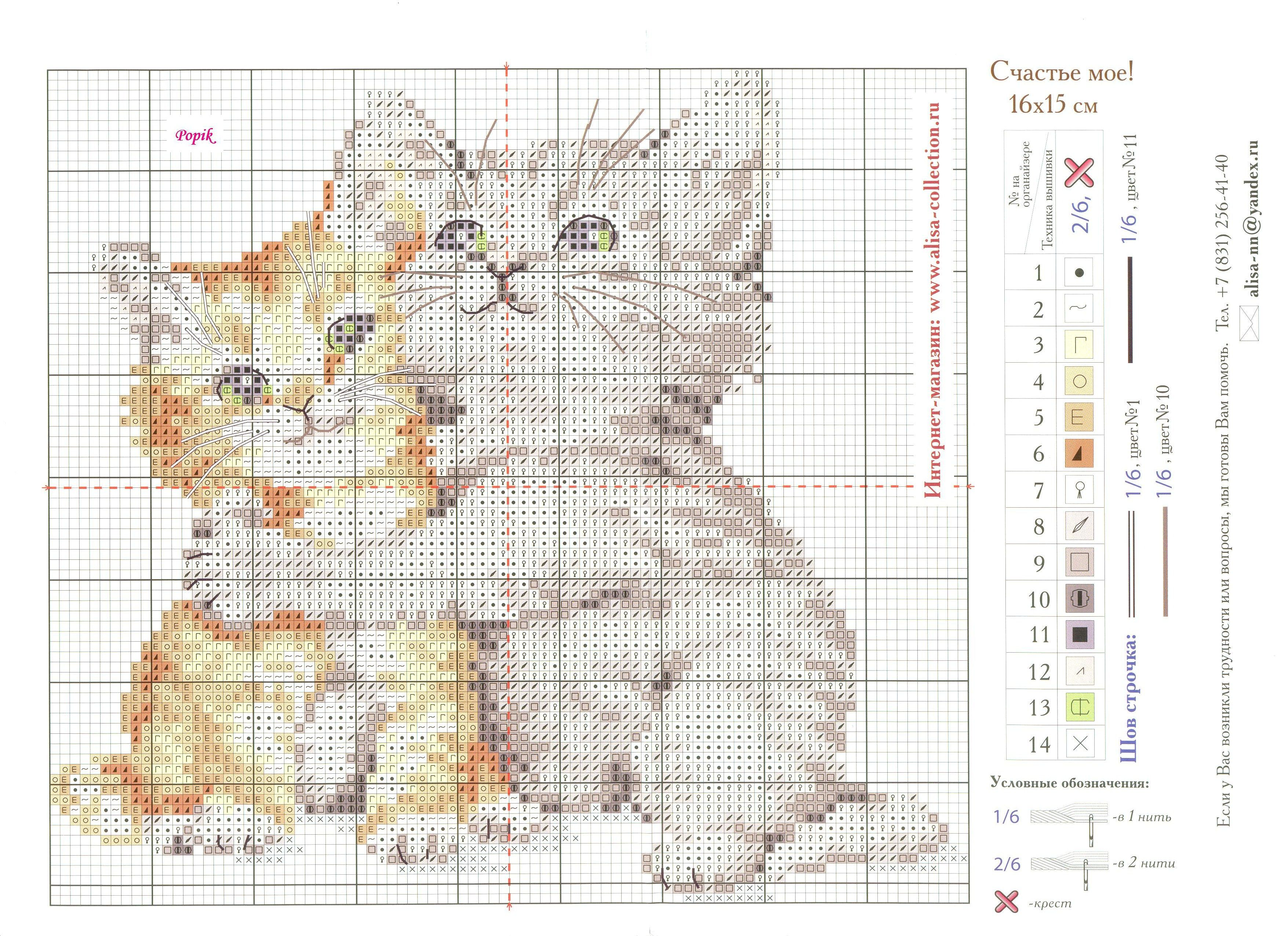 Схемы для вышивки крестом котята скачать бесплатно
