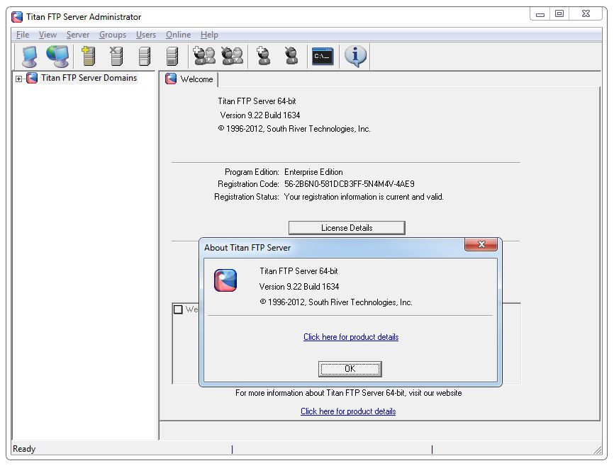 Titan ftp server enterprise edition v4.10.256