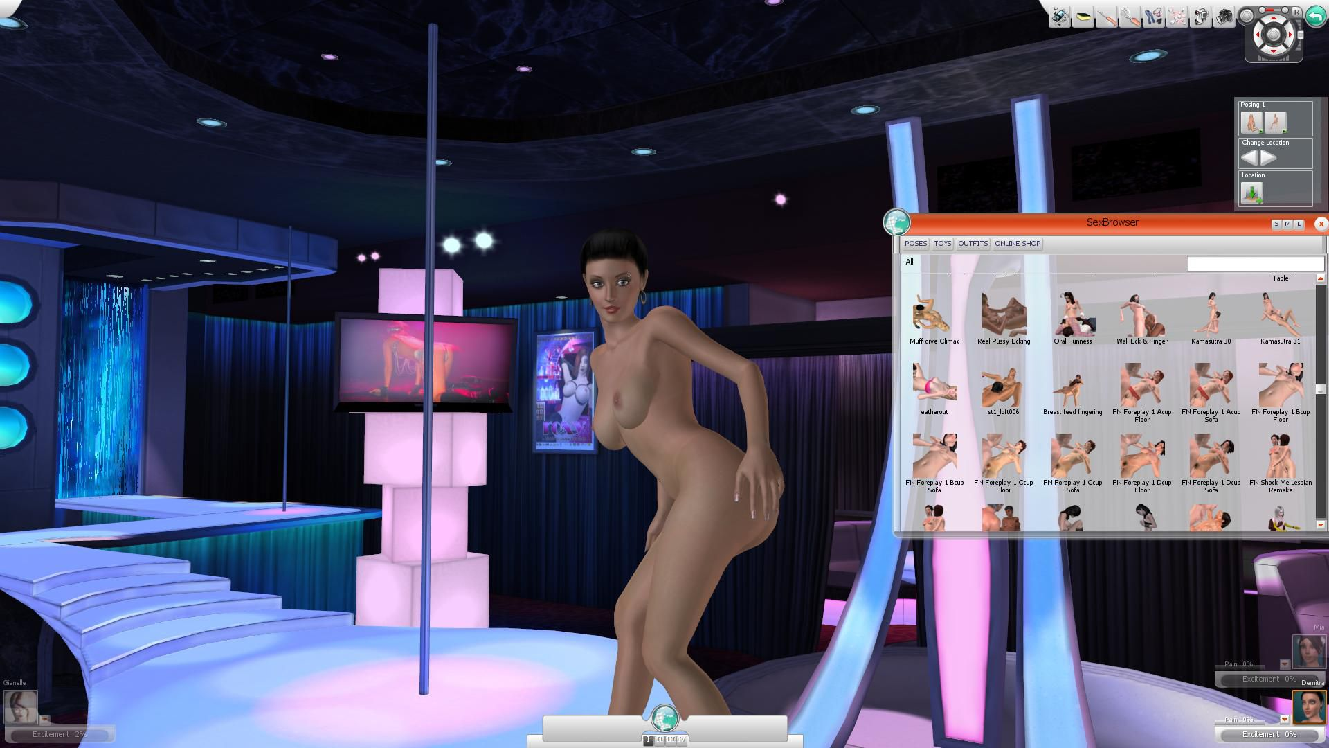 3D SexVilla 2 + Mod The Klub 17 version 7.4.9 + Official Mega packs for TK17 V7.X [2012] [Uncen] [3D, Simulator, ADV] [ENG] SexGame