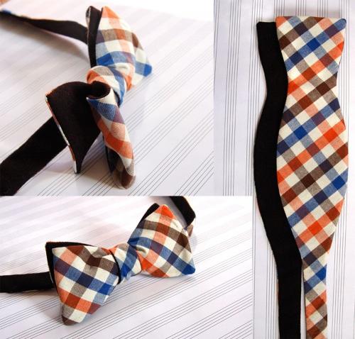 Как легко сшить галстук бабочку 54