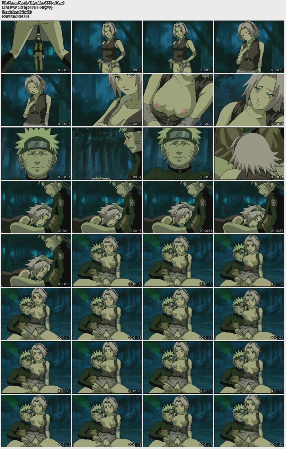Naruto Hentai video / Видео хентай Наруто [Ep.1-9] [ENG,JAP] Anime Hentai