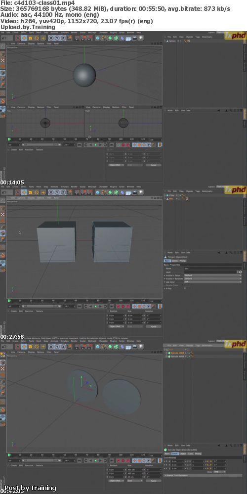 fxphd - C4D103: Introduction to Cinema 4D R14, Part 1
