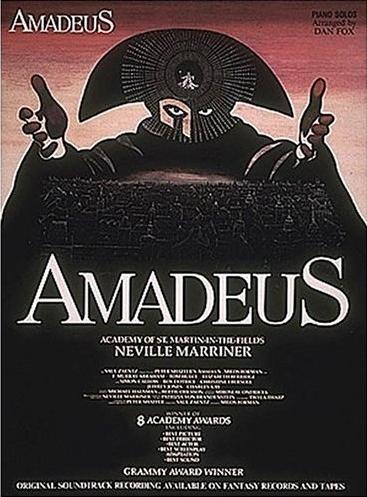 (Фортепиано / Саундтрек) Amadeus / Избранные композиции из фильма Амадей (W.A. Mozart / В.А. Моцарт. Arranged by Dan Fox) [1985, PDF, ENG]