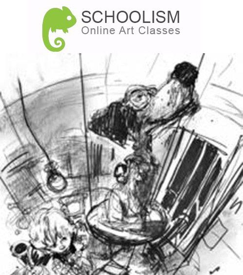 Schoolism - Drawing Fundamentals with Thomas Fluharty