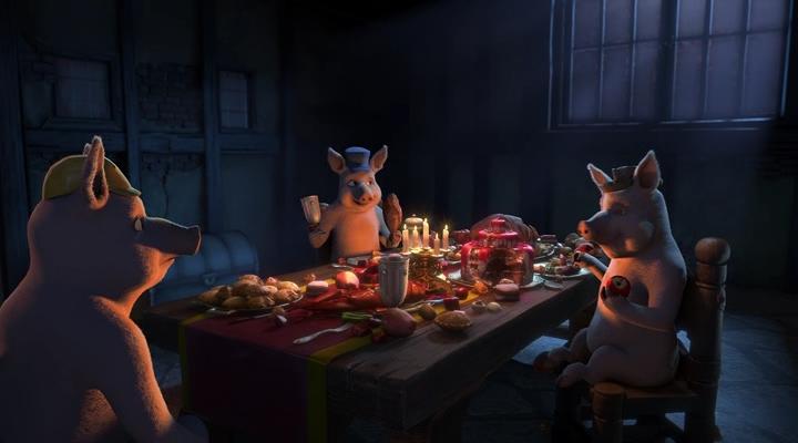 Поросёнок, который крикнул «Оборотни! / The Pig Who Cried Werewolf (2011) HDRip