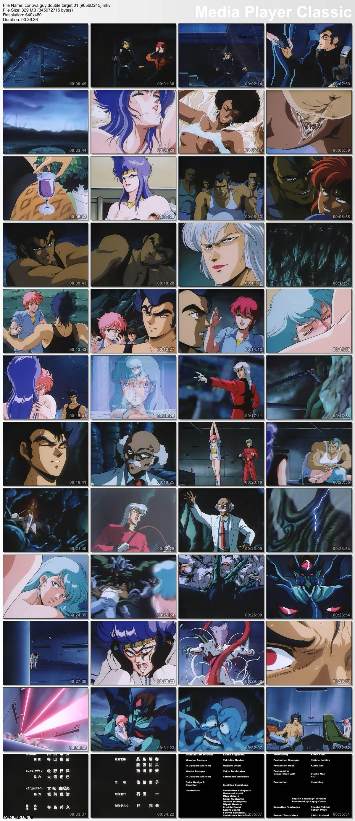 Guy: Double Target / ���: ������� ������ [2 �� 2] [RUS,ENG,JAP] Anime Hentai
