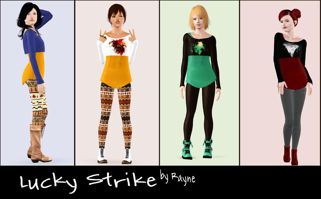 Одежда в формате sims3pack 5