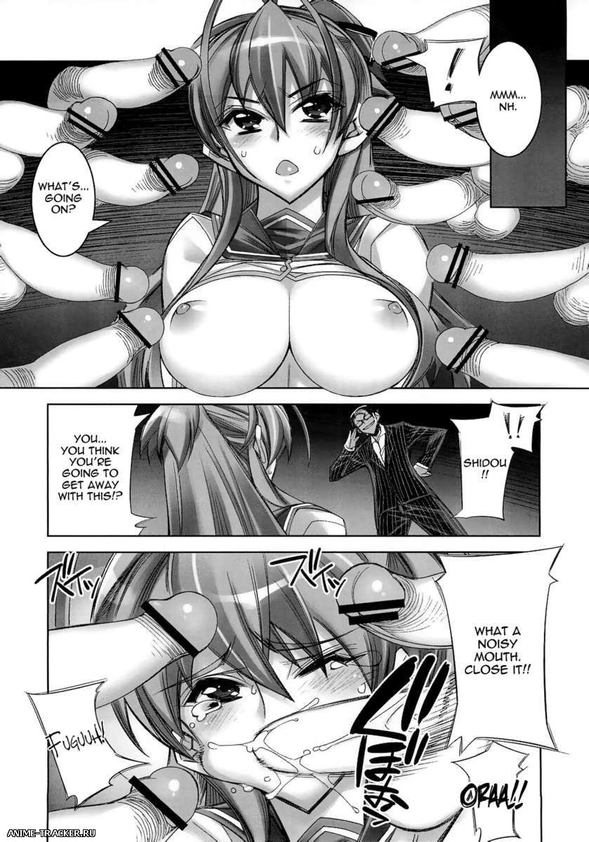 HIGHSCHOOL OF THE DEAD - Hentai Doujinshi Collection / Сборник хентая [Манга и Картинки] [Ptcen] [ENG,JAP] Manga Hentai