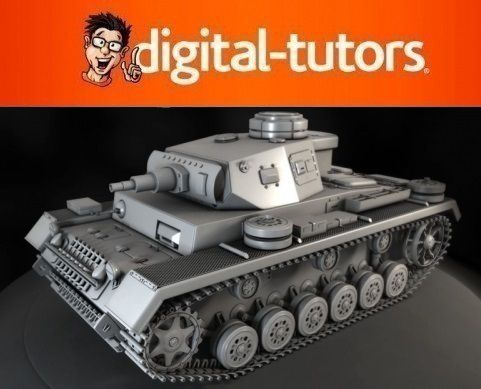 Digital-Tutors: Modeling a High-Resolution Tank in 3ds Max