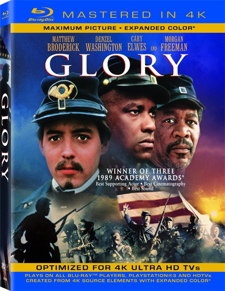 Доблесть / Glory (1989) [Blu-ray Disc (custom) (1080p) Mastered in 4K]