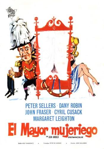 Вальс тореадоров / Waltz of the Toreadors (Джон Гиллермин / John Guillermin) [1962, Великобритания, Комедия, DVDRip] MVO