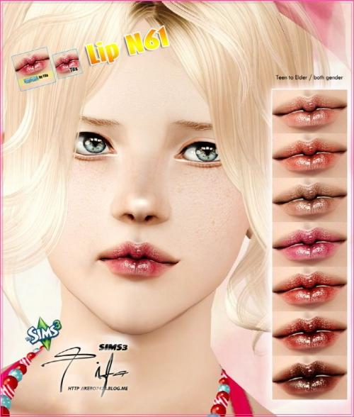 Natural lip gloss, for a - puccamichi sims
