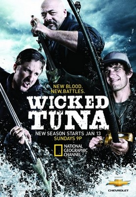 Дикий тунец. Север против Юга. Сезоны 2, 3(20 серий из 20) / Wicked Tuna. North vs. South [2015, Реалити шоу, IPTVRip]