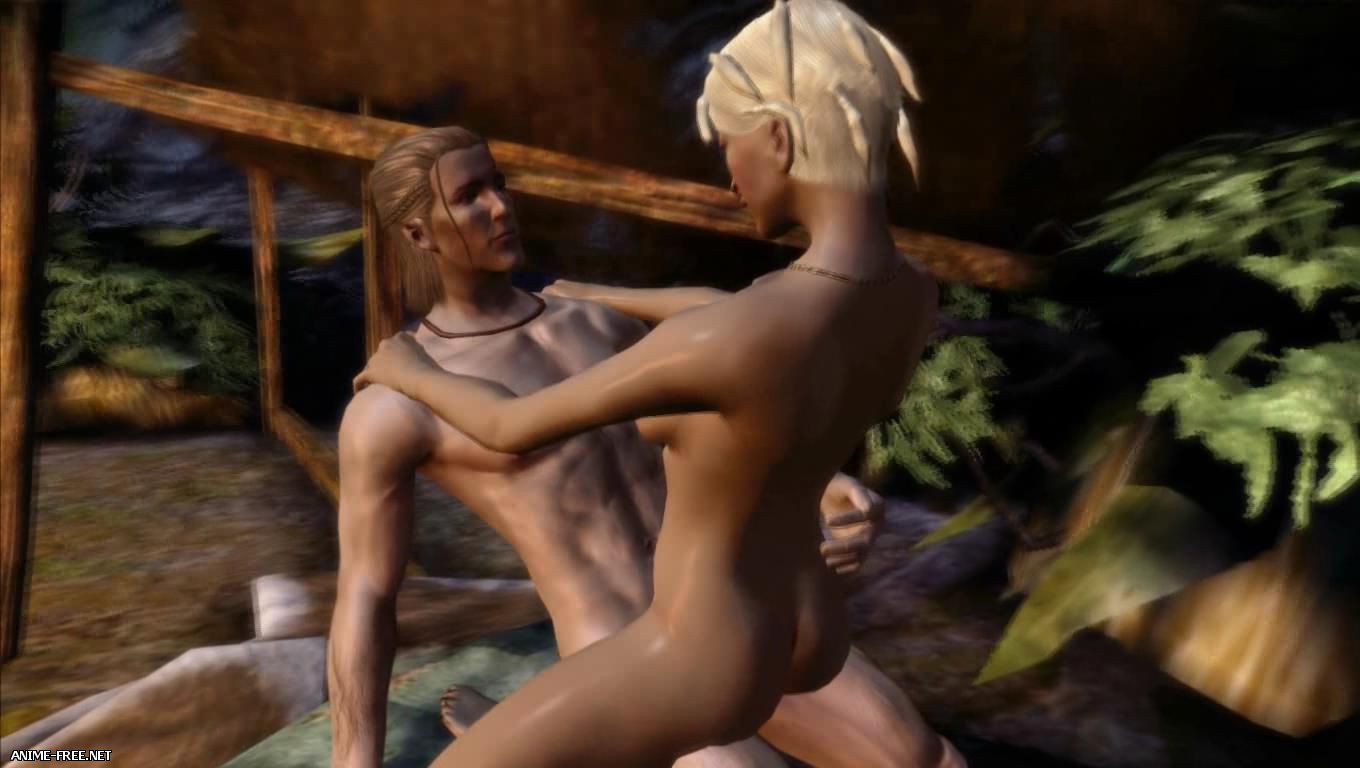 Dragon Age: Origins - The Oasis of Pleasure / ����� ��������: ������ - ����� ������������ [Ep.1] [Uncen] [720p] Anime Hentai