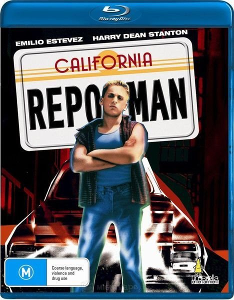 Конфискатор / Repo Man (1984) BDRip-AVC | P2, A