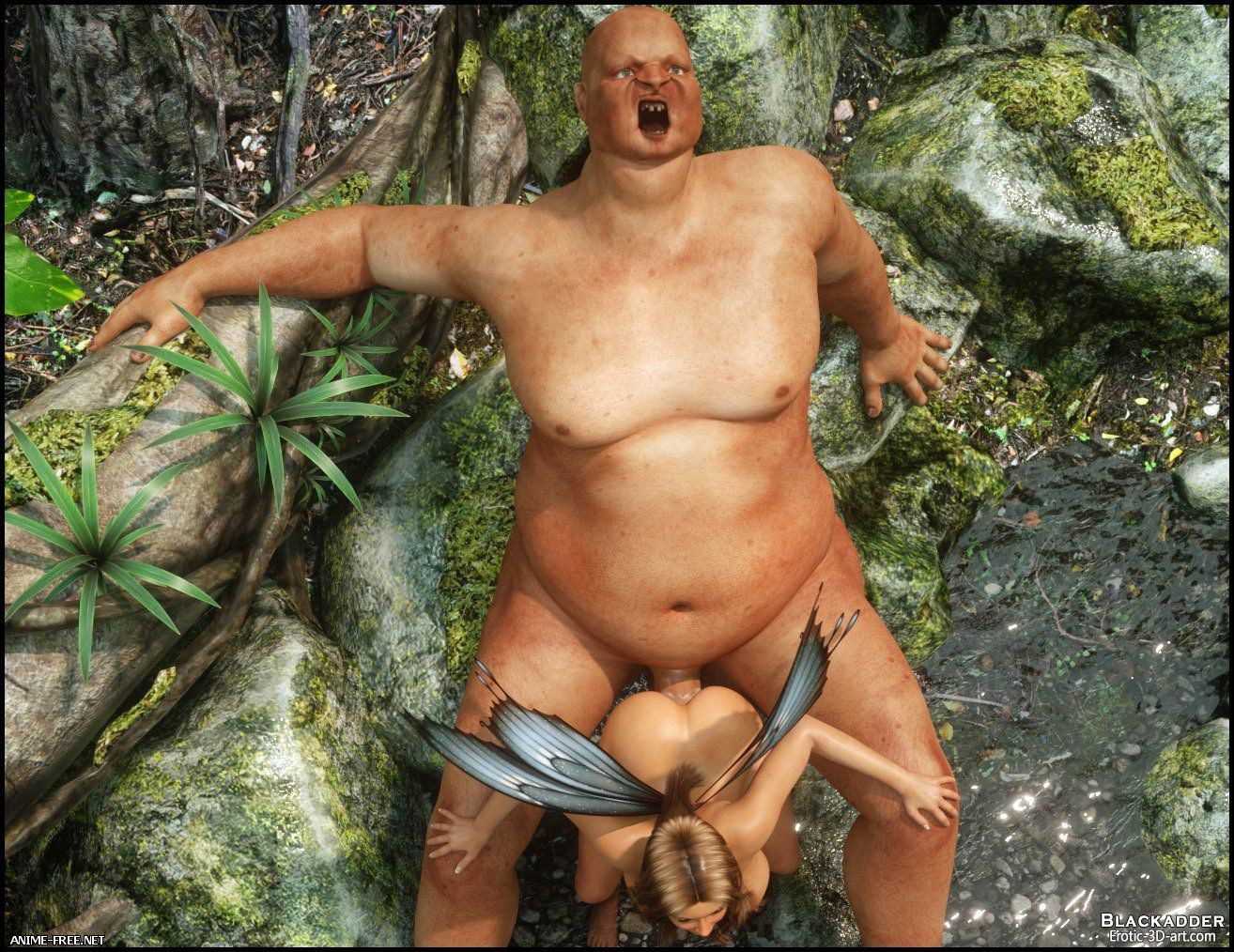 Beauty and The Beast / Featuring Fawn [Uncen] [3DCG] [JPG] Hentai ART
