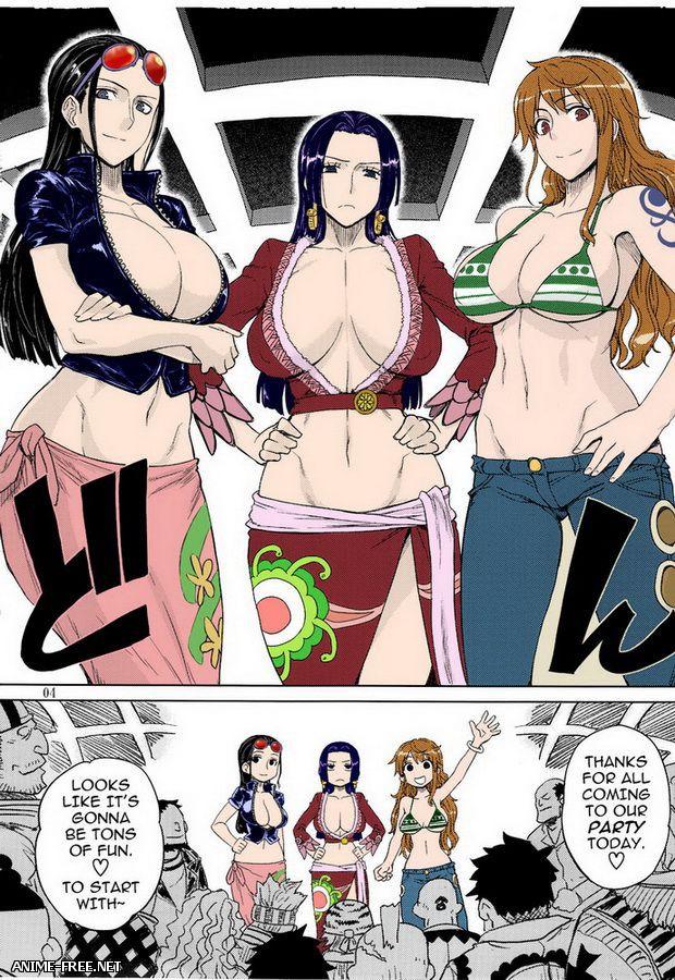 Сборник хентай манги по One Piece / Додзинси по Ван Пис [Ptcen] [ENG,JAP] Manga Hentai
