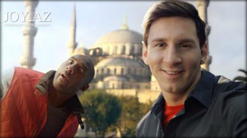 Messi və Kobi Brayantın yeni reklam çarxı
