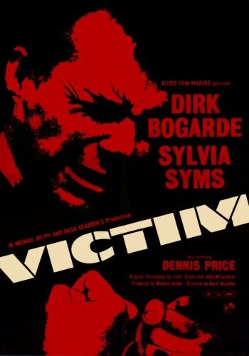 Жертва / Victim (Бэзил Дирден / Basil Dearden) [1961, Великобритания, КриминальнаяДрама, DVDRip] AVO (А.Алексеев)