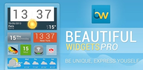[Система] Beautiful Widgets Pro v5.4.2b3 [Android 2.2, RUS]
