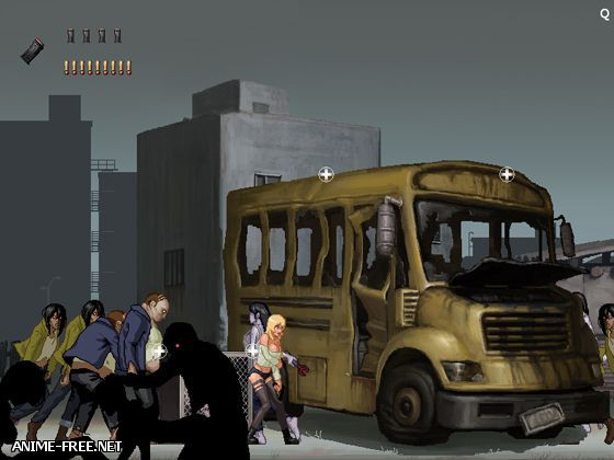 Parasite in City / Паразит в Городе [2013] [Cen] [Action] [JAP,ENG] H-Game