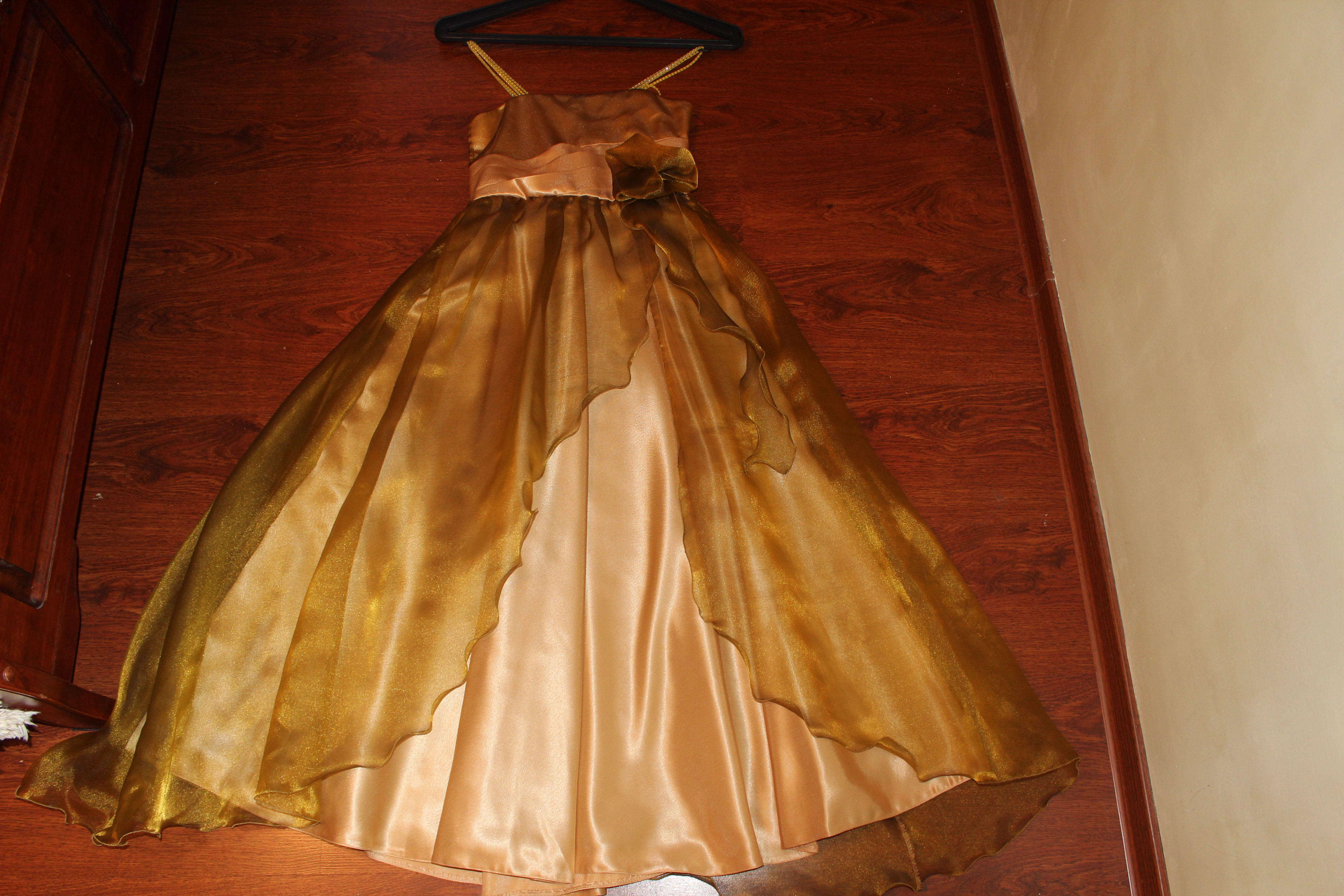 Детские платья для праздника как сшить самим