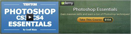Ten Ton – Photoshop Essentials Training Video by Geoff Blake