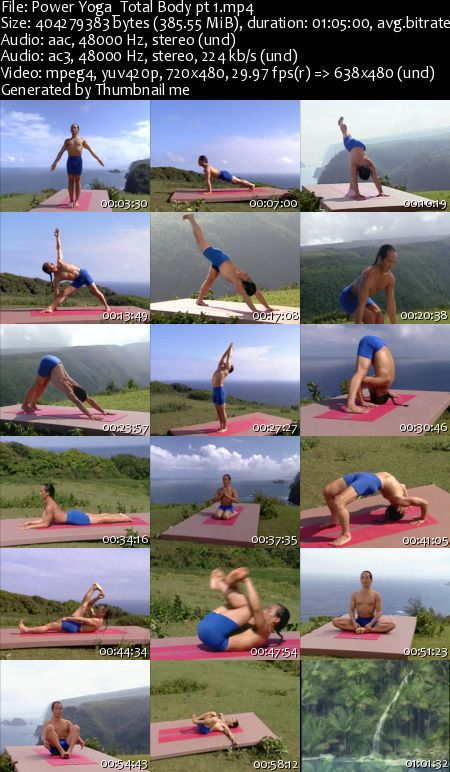 Rodney Yee - Power Yoga Total Body (DVDRip)